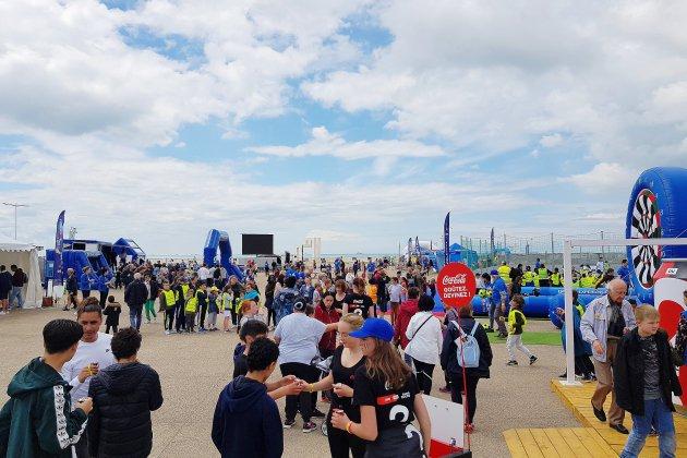 Suivez le match France Norvège sur la plage au Havre