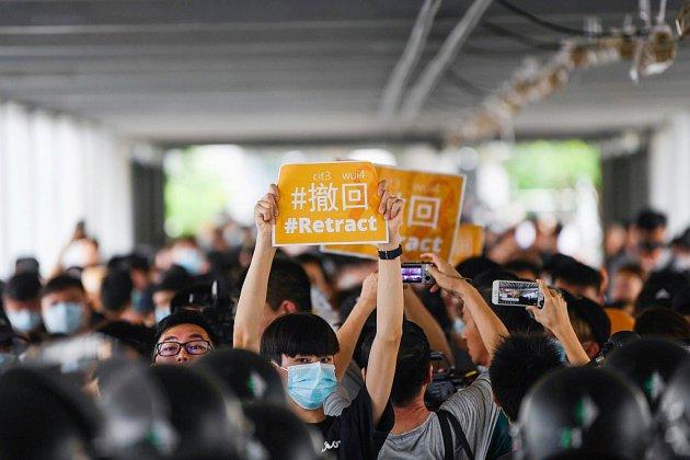 Hong Kong soumise aux pressions avec son projet d'extradition controversé