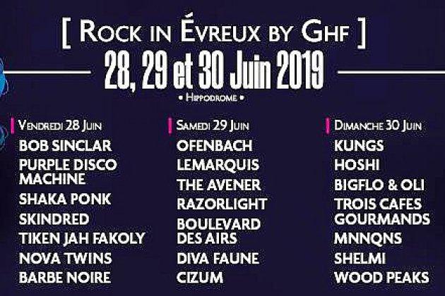 A gagner cette semaine: vos 2 pass 3jours pour Rock In Evreux!