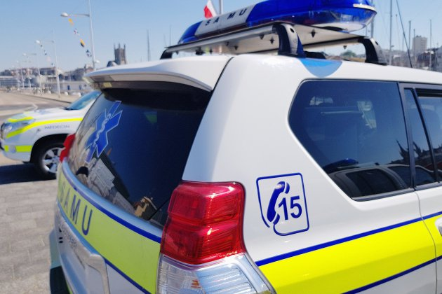 Un motard grièvement blessé près du Havre