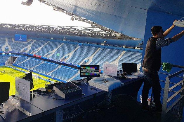 Coupe du monde: dans les coulisses du stade Océane