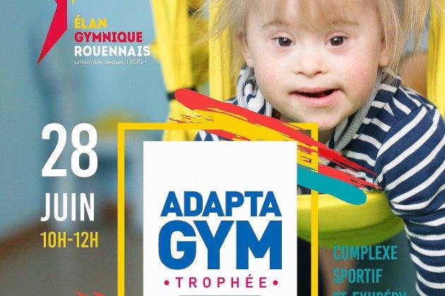 Le trophée Adaptagym de retour à Rouen
