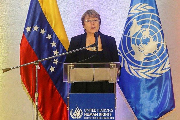 """Venezuela: Bachelet appelle à """"libérer"""" les opposants détenus et s'inquiète de la situation humanitaire"""
