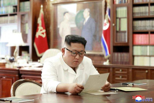 """Kim a reçu une lettre """"très satisfaisante"""" de Trump"""