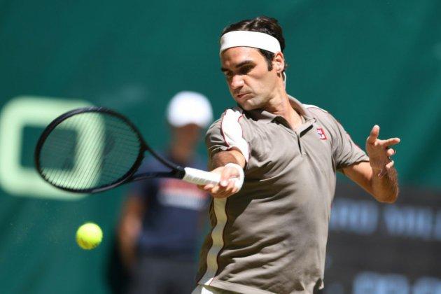 ATP: la passe de dix pour Federer à Halle