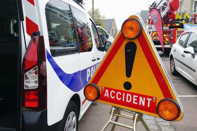 Violente collision frontale dans le Calvados: 4 personnes blessées
