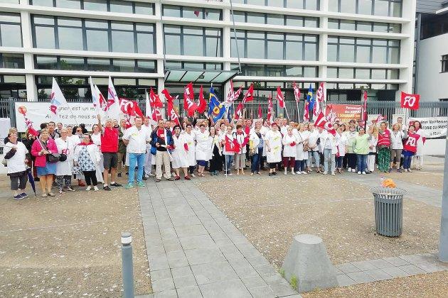 Hôpitaux de Normandie: mobilisation régionale à Caen