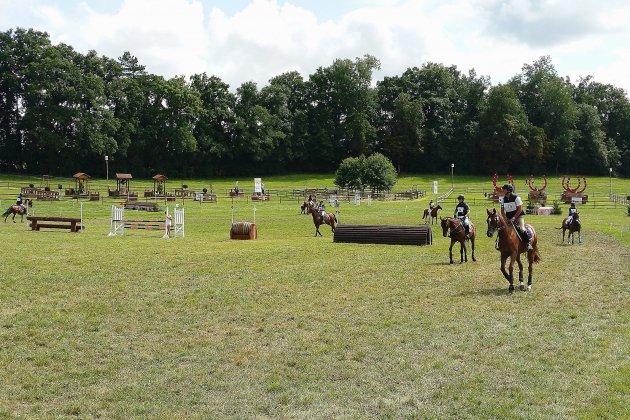 Championnat d'Europe d'équitation, le concours complet au Haras du Pin