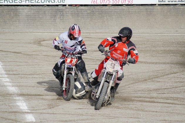 Dufootball à moto ce weekend à Houlgate