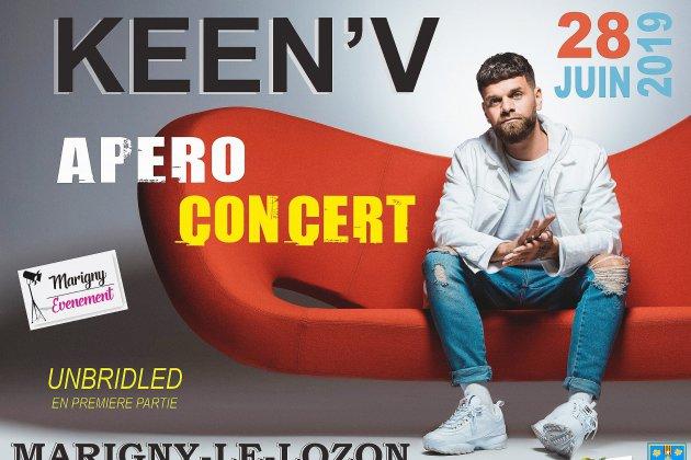 Keen-V en concert à Marigny