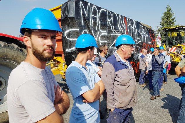La sucrerie de Cagny bloquée par les Jeunes Agriculteurs