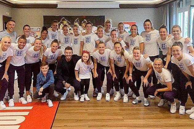 Des Anglaises victorieuses au Havre et soutenues par David Beckham!