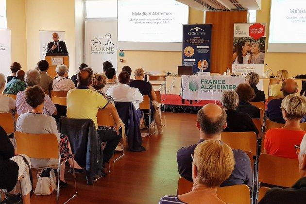 Colloque dans l'Orne: Alzheimer, quels accueils pour les malades?