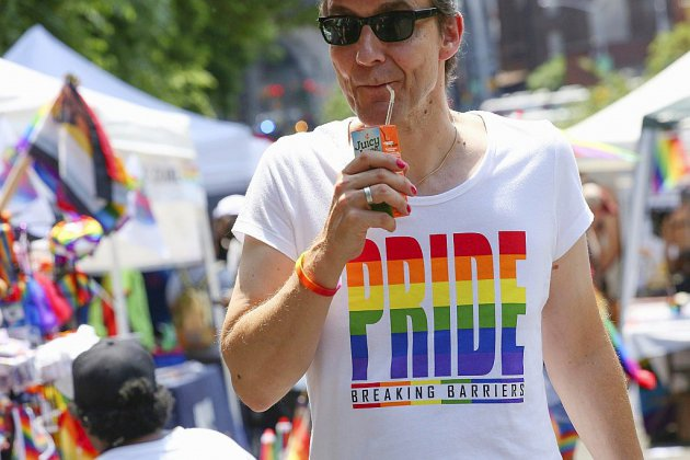 Gay Pride géante et contestée à New York pour les 50 ans de Stonewall