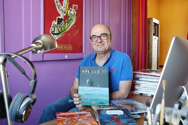 Le Rouennais Ceka est devenu une référence des auteurs de BD