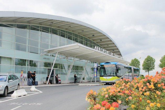Des archéologues à l'aéroport de Caen-Carpiquet