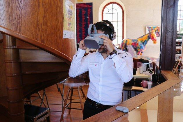 Réalité virtuelle: devenez cavalier le temps d'une épreuve équestre
