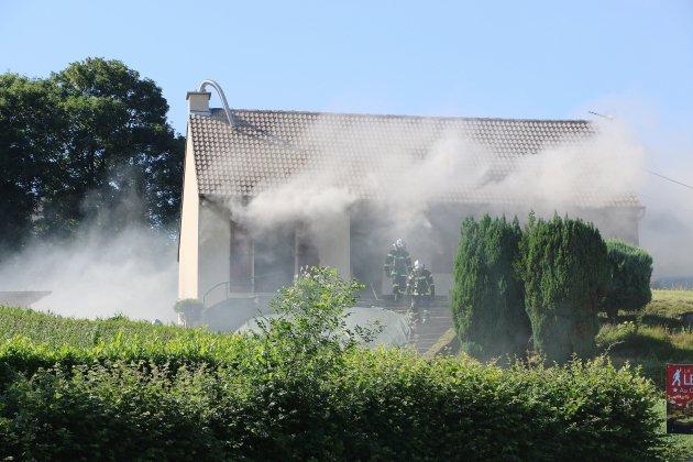Une maison touchée par un incendie à Vire