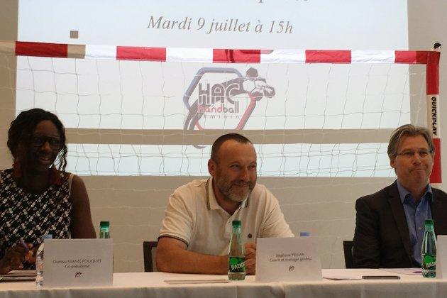 HAC Handball féminin: qui est le nouvel entraîneur Stéphane Pellan?
