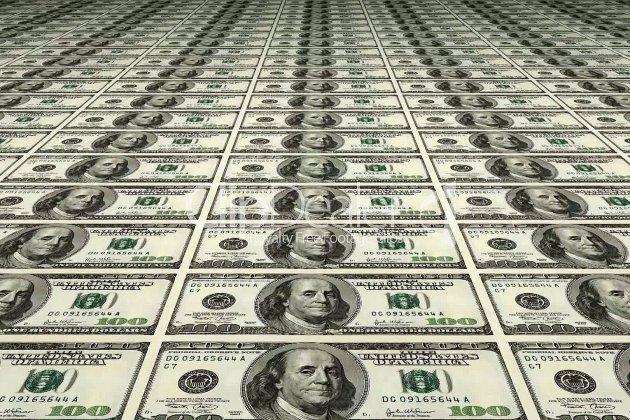 De l'argent comme s'il en pleuvait sur l'autoroute!