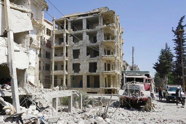 Syrie: dix civils tués dans les raids du régime sur le nord-ouest