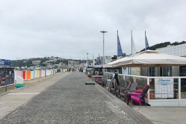 À la plage du Havre, l'été des restaurateurs commence bien