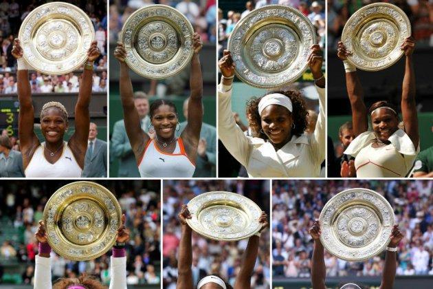 Wimbledon: Serena, à une marche de l'histoire