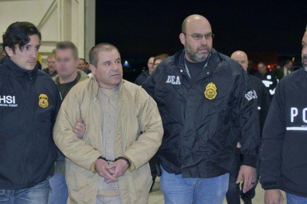 """""""El Chapo"""", un des plus grands barons de la drogue, risque la perpétuité"""