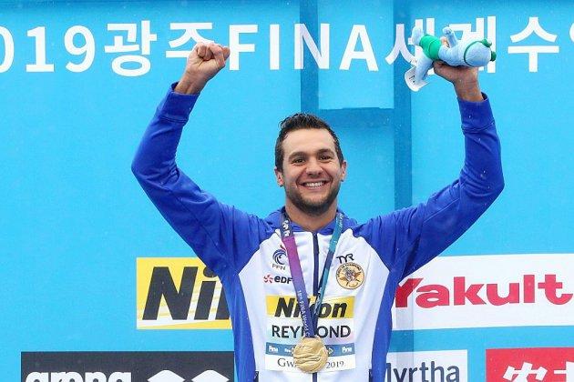 Mondiaux de natation: cinq heures d'effort et Reymond conserve l'or en eau libre