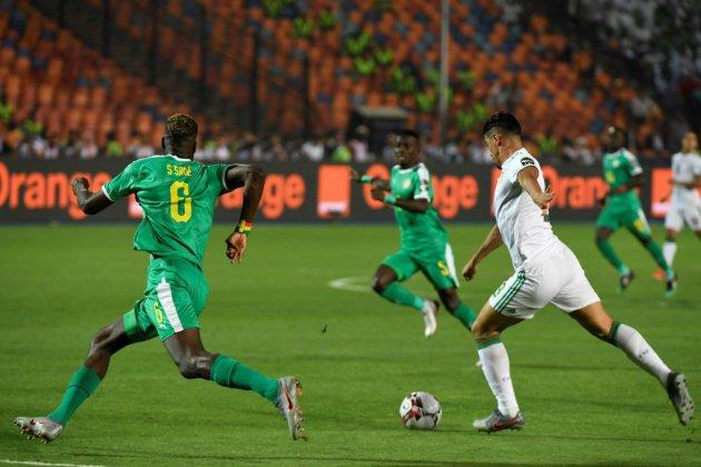 CAN: l'Algérie mène 1 à 0 contre le Sénégal à la pause en finale