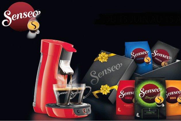 Chaque jour, gagnez une machine à café Senseo grâce à Tendance Ouest!