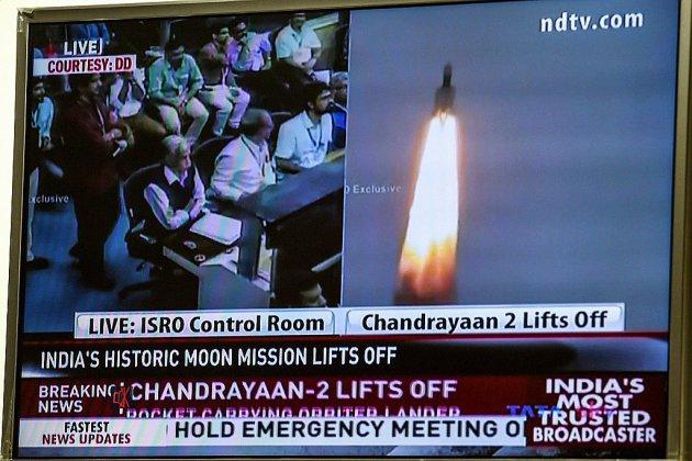 Une sonde indienne en route vers la Lune