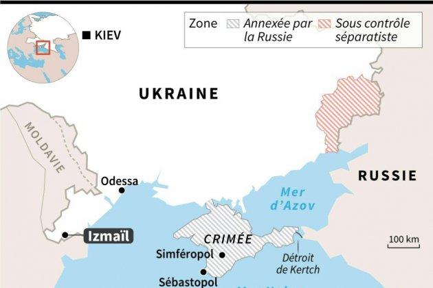 L'Ukraine arraisonne un tanker russe dans l'estuaire du Danube