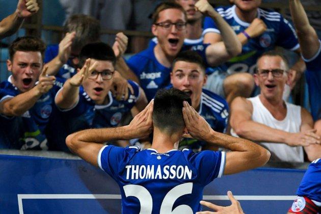 Ligue Europa: Strasbourg prend une option sur la qualification