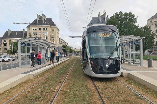 Caen : les écologistes satisfaits du nouveau tramway