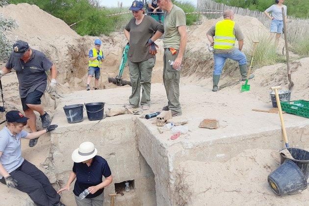 Occupation allemande : de nouvelles fouilles à Courseulles-sur-Mer