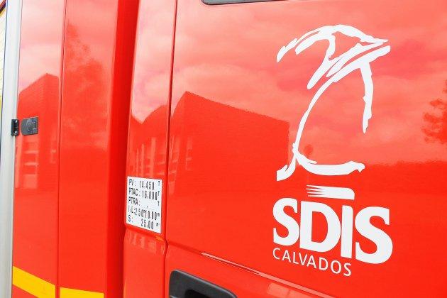 Près de Lisieux, 18 sapeurs-pompiers mobilisés pour un feu de de garage