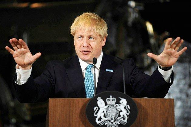 Boris Johnson en Irlande du Nord, province au coeur de l'impasse du Brexit