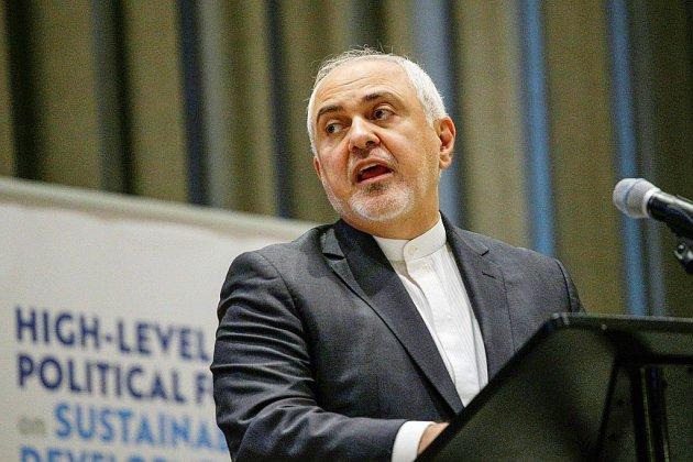 """Pour l'Iran, les sanctions américaines sur son chef de la diplomatie sont un signe de """"peur"""""""