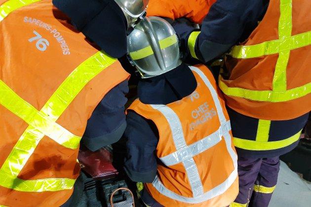Près de Rouen, une personne âgée décède après un incendie