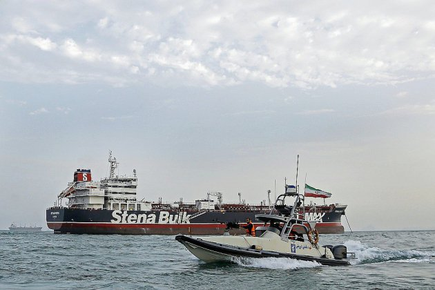 """L'Iran a saisi un navire """"étranger"""", le troisième en moins d'un mois"""