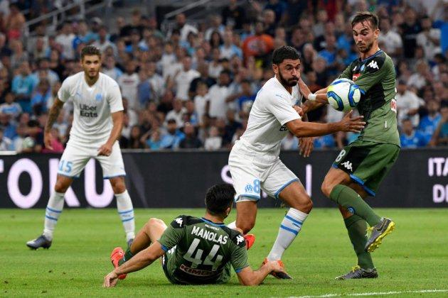 Marseille termine sur une mauvaise note devant Naples