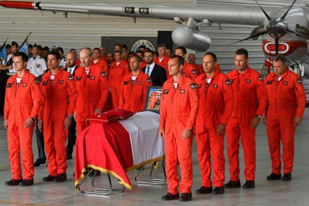 """Incendies du Gard: Franck Chesneau, """"un frère, un ami, un héros"""""""
