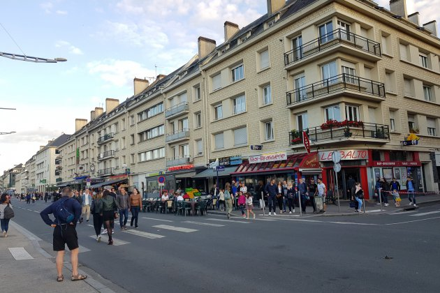 "Peinture ""anti-pipi"" à Caen : c'est fini !"