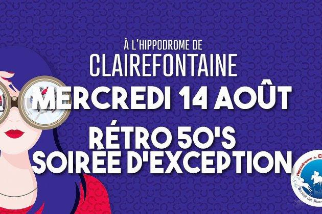 Journée rétro à l'hippodrome de Clairefontaine mercredi