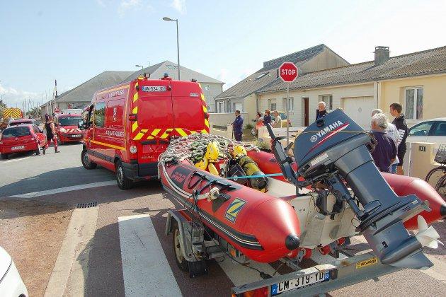 Une celluled'urgence médico-psychologique après le drame d'Agon-Coutainville