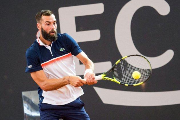 Tennis: Paire au 2e tour, Monfils éliminé