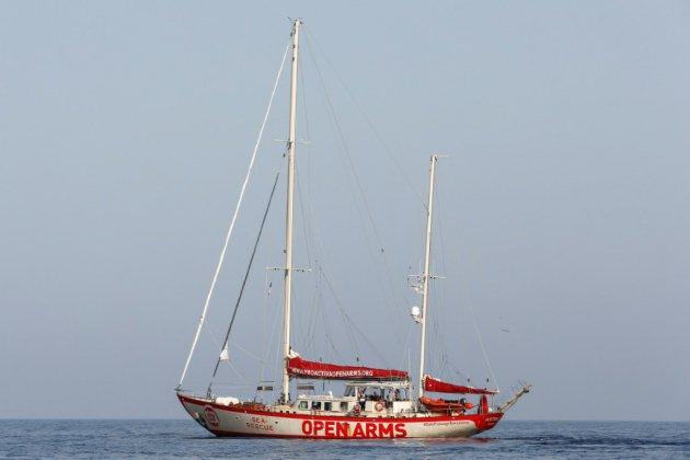 Migrants : la justice autorise l'Open Arms à s'approcher de Lampedusa
