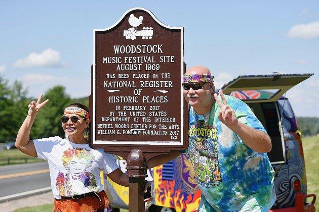 Cinquante ans après, les hippies, dans la fleur de l'âge, reviennent à Woodstock