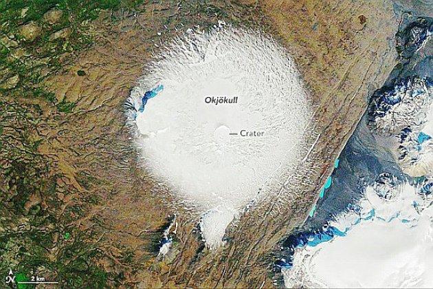 L'Islande commémore la disparition de son premier glacier victime du réchauffement
